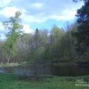 Усадьба Стуловых (Чекмариха), парк с прудом, фото Натальи Бондаревой 2005 г.