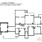 Усадьба Стуловых (Чекмариха), план дома Стуловой