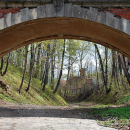 Усадьба Суханово, мост через овраг