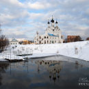 Храм Благовещения в Тайнинском Мытищинский район