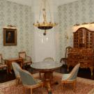 Усадьба Талицы купца Аигина, интерьер главного дома