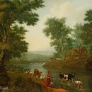 Таицкий парк на картине C. Ф. Щедрина, 1780-е годы