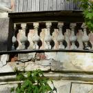 Усадьба Тайцы, фрагмент фасада главного дома