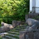 Усадьба Тайцы, парадная лестница главного дома