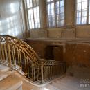 Усадьба Тайцы, парадная лестница вестибюля главного дома