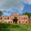 Усадьба Торосово руины дворца