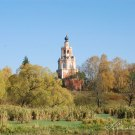 Усадьба Уборы. Спасская церковь