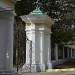 Усадьба Валуево, пилоны парадного въезда