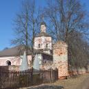 Усадьба Васильевское Герценых, церковь Воскресения Словущего