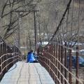 Усадьба Васильевское Герценых, подвесной мост