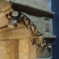 Усадьба Васильевское. Камин в доме Щербатовых до реставрации (фрагмент)