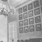 Усадьба Васильевское Орлова-Денисова, парадный зал главного дома