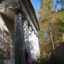 Усадьба Васино, портик главного дома (2007 г.)