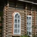 Усадьба Васино, главный дом, фрагмент фасада