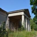 Усадьба Васькино, портик главного дома