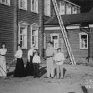 Усадьба Владимировка. Игроки в крокет. Фото 1903г. Из архива М.Г. Рогозиной