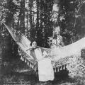 Усадьба Владимировка. В парке. Фото 1903г. Из архива М.Г. Рогозиной