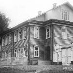 Главный дом в усадьбе Владимировка, 1902г. Фото из семейного архива М.Г. Рогозиной