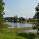 Усадьба Владимировка Игоря Северянина, река Суда