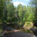 Усадьба Владимировка Игоря Северянина, пересохшая речка