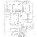 Усадьба Волышово план 1-го этажа дома управляющего