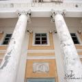 Усадьба Волынщина-Полуэктово, портик главного дома