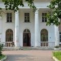 Усадьба Воробьево, портик главного дома