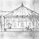 Усадьба Высокое. Проект Н.Л. Бенуа конного завода с манежем