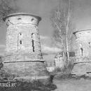 Усадьба Ярополец Гончаровых, башни въезда на парадный двор