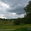 Усадьба Ясная поляна, вид от кучерской на окрестности