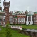 Усадьба Шереметевых в Юрино, парковый фасад