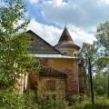 Усадьба Заключье, боковой фасад главного дома