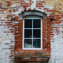 Усадьба Жерехово, фрагмент фасада церкви