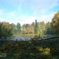 Усадьба Жерехово, парк с прудом