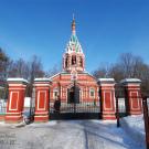 Усадьба Знаменское-Губайлово, Знаменская церковь