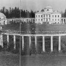 Усадьба Знаменское-Раек. Панорама ансамбля. Фото А.М. Харламовой, 1960-е гг.