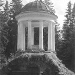 Усадьба Знаменское-Раек, беседка-ротонда (утрачена в 1991 г.)