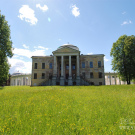 Усадьба Знаменское-Раёк дворец со стороны парка