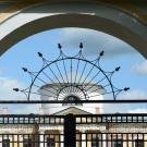 Усадьба Знаменское-Раек ворота парадного двора