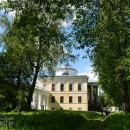 Усадьба Знаменское-Раёк вид на дворец из парка