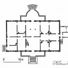 Усадьба Золино план главного дома