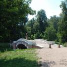 Усадьба Кузьминки, мостик в парке