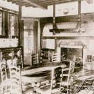 Усадьба Льялово Морозовка, главный дом усадьбы, интерьер столовой