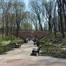 Усадьба Нескучное мостик в парке