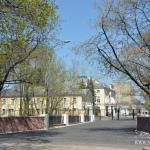 Усадьба Нескучное парк, постройки парадного двора