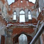 Усадьба Пречистое, интерьер дворца