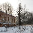 Усадьба Самуйлово, руины флигеля