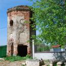 Усадьба Троицкое-Лобаново, башня церковной ограды
