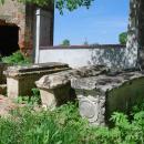 Усадьба Троицкое-Лобаново, некрополь рядом с Троицкой церковью
