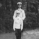 В. к. Сергей Александрович с племянником